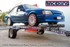 RaceKing Car Trailers Maintenance Raised